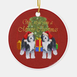 Old English Sheepdog Christmas Christmas Ornament