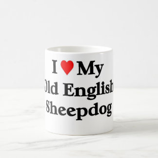 Old English Sheepdog Coffee Mug