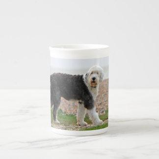 Old English Sheepdog dog bone china mug, gift Bone China Mug