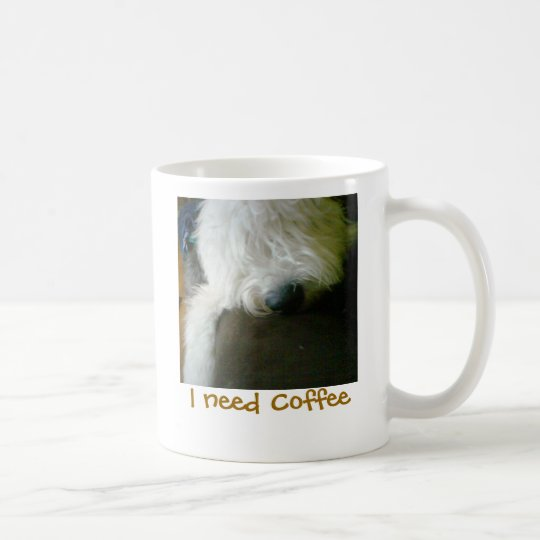 Old English Sheepdog, I need Coffee mug