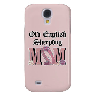 Old English Sheepdog MOM Samsung Galaxy S4 Cover