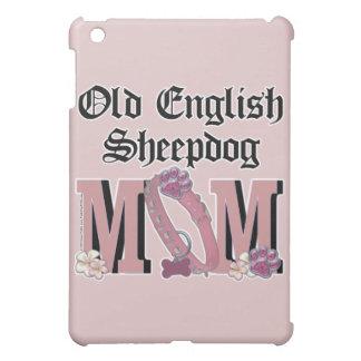 Old English Sheepdog MOM iPad Mini Covers