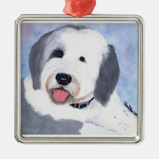 Old English Sheepdog Ornament
