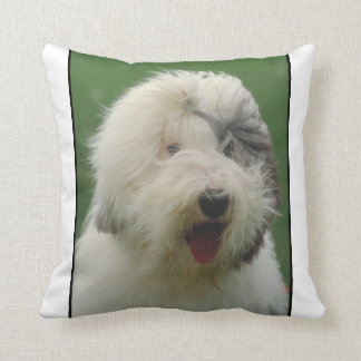 Old English Sheepdog Pillow