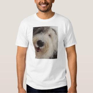 Old English Sheepdog - Snow Face T-Shirt