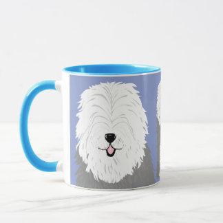 Old English Sheepdog (with covered eyes) Mug