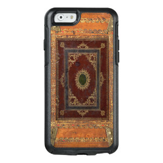 Old Engraved Decorated Leather Book Cover OtterBox iPhone 6/6s Case