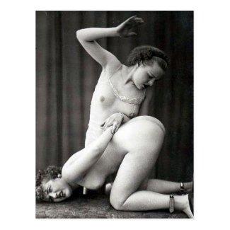 Old Erotic Postcard