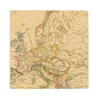 Old Europe Wood Coaster