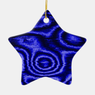 old fabric blue christmas ornaments