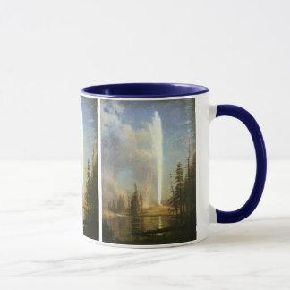 Old Faithful, Albert Bierstadt Mug