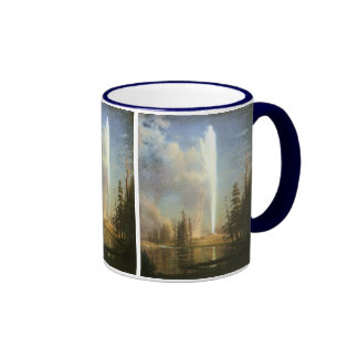 Old Faithful, Albert Bierstadt Mugs