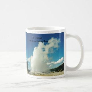 Old Faithful Basic White Mug