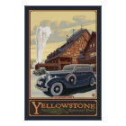 Old Faithful Inn - Yellowstone Nat'l Park Poster