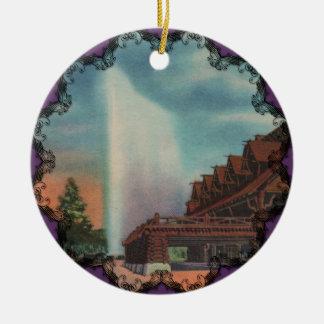 Old Faithful Victorian Ornament