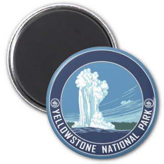 Old Faithful - Yellowstone National Park Magnet