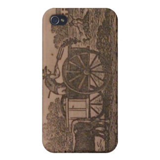 Old Farmers Almanac 19th Century Cover For iPhone 4