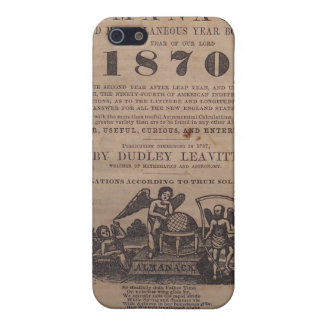Old Farmers Almanac 19th Century iPhone 5/5S Cover