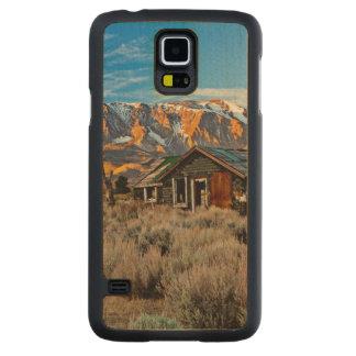 Old Farmhouse Along Hwy 395 In June Lake Maple Galaxy S5 Slim Case
