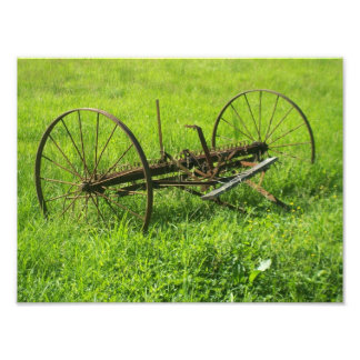 Old Farming Tool Photo Print