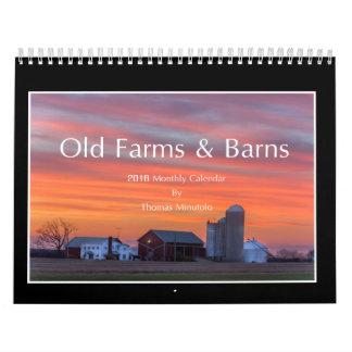 Old Farms & Barns 2016 Calendar By Thomas Minutolo
