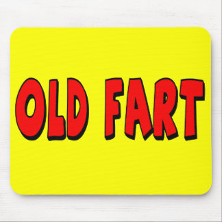 Old Fart 50th Birthday Mousepad