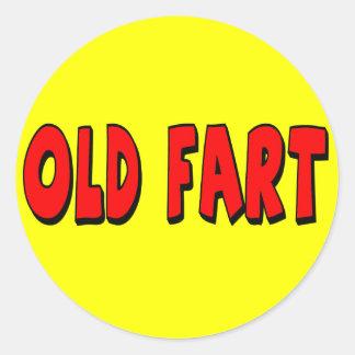 Old Fart 50th Birthday Sticker