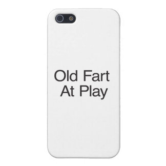 Old Fart At Play Cover For iPhone 5