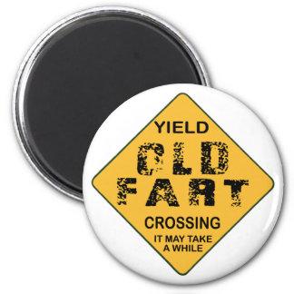 Old Fart Crossing Magnet
