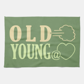 Old Fart custom hand towel