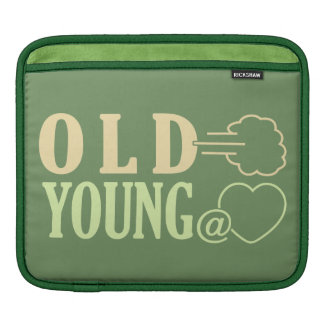 Old Fart custom iPad sleeve