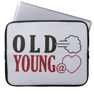 Old Fart custom laptop sleeve