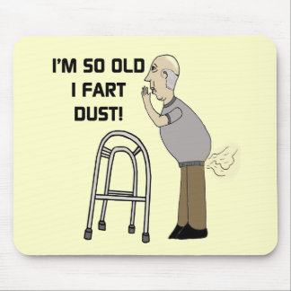 Old Fart Gifts For Fathers Day Mouse Mat