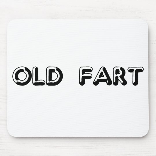 Old Fart Mouse Pad