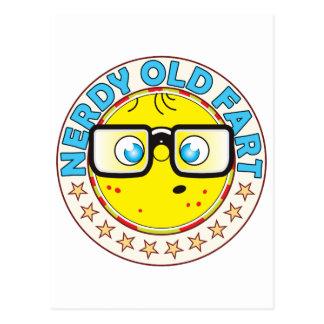 Old Fart Nerdy Postcard