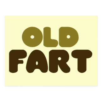 Old Fart Postcard