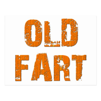 Old Fart Post Card