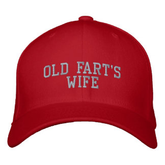 Old Fart's Wife Baseball Hat