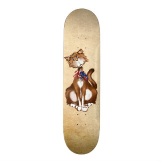 Old Fashion American Kitty Skate Board Decks