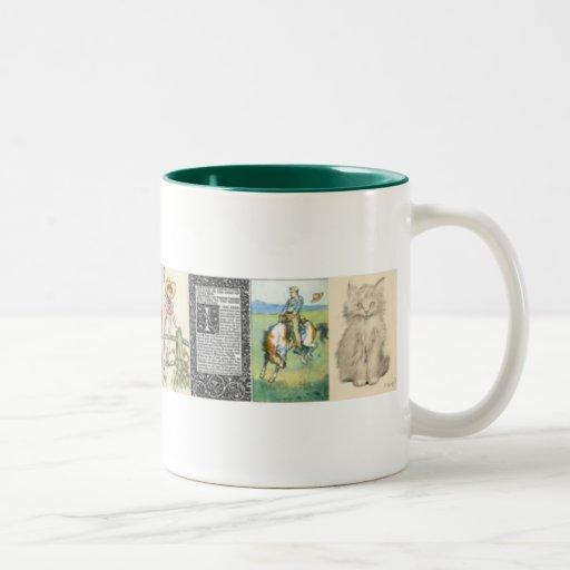 Old Fashion Art Mug