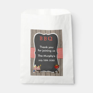 Old Fashion Barbecue Favor Bags Favour Bags
