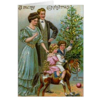 Old Fashion Christmas Greeting Cards