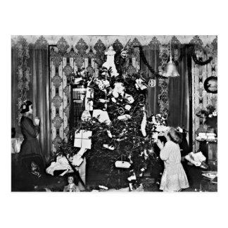 Old Fashion Christmas Postcard