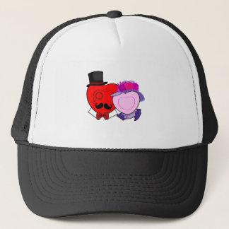 OLD FASHION HEARTS TRUCKER HAT