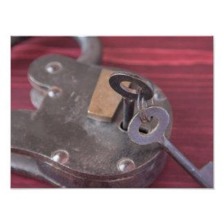 Old Fashion Lock and Keys 2 Photo Print