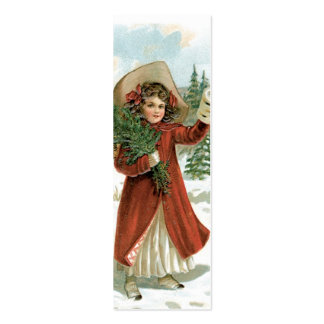 Old Fashion Santa LOVE Note or Gift Tag Business Cards