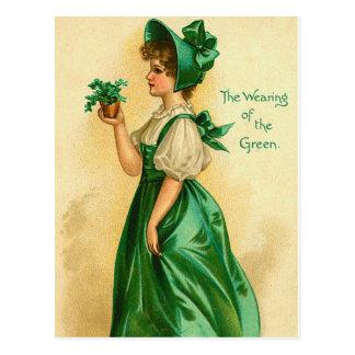 Old Fashion St Patrick s Irish Postcards