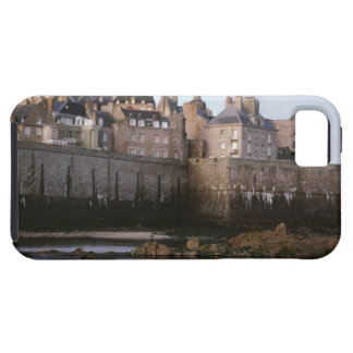 Old-fashioned architecture, Brittany, France iPhone 5 Cover