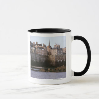 Old-fashioned architecture, Brittany, France Mug