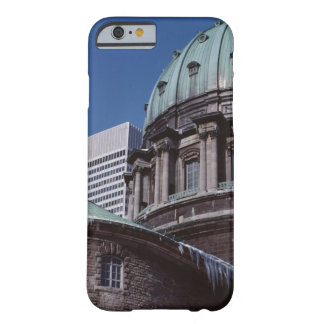 Old-fashioned architecture, cropped barely there iPhone 6 case